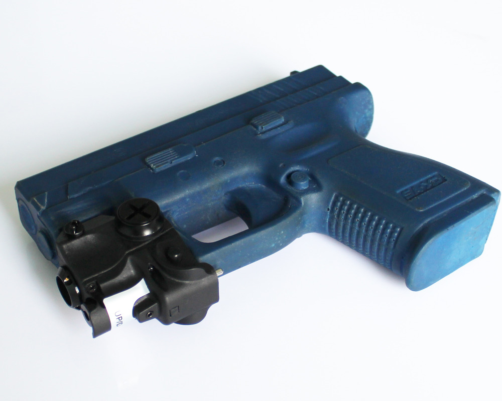 2 in 1 Hunting shooting subcompact pistol guns green laser sight with led flashlight combo