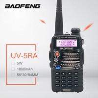 Long Range Walkie Talkie Uhf Vhf Pofung UV 5RA Is Upgraded BAOFENG UV5R For CB Radio Station Radio Scanner Police Two Way Radio