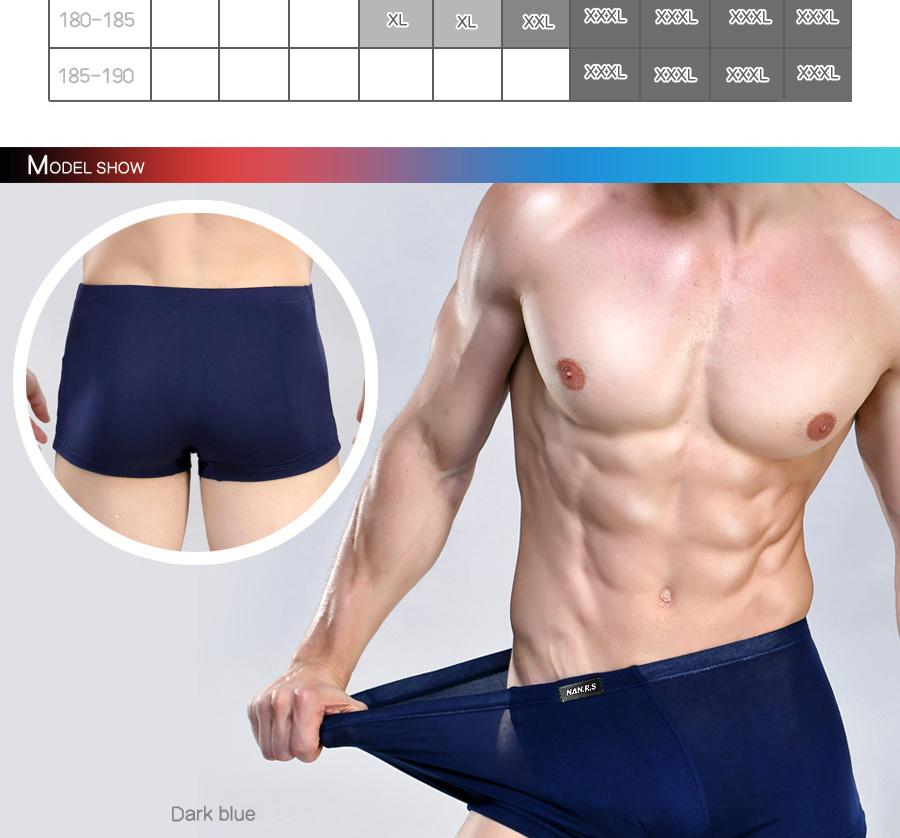 Bamboo Fibre Mens Underwear Boxer Shorts 24