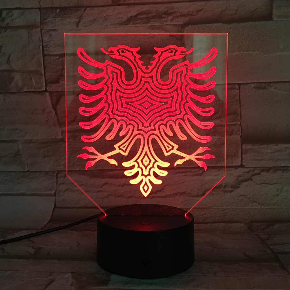online get cheap acrylic lamp bases aliexpresscom  alibaba group - stereo d night lamp colorful discoloration table light acrylic paneveilleuse abs base children's lighting dry