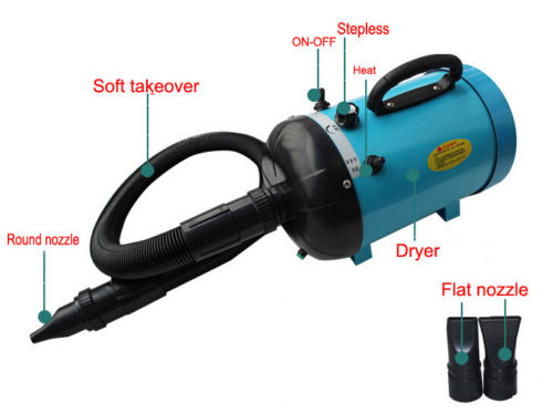Dog Pet Grooming Dryer Hair Dryer Removable Pet Hairdryer 2800W 220V with 2 nozzles pet products dog supplies pet dryer dog hair dryer cs 2400 2400w pet variable speed