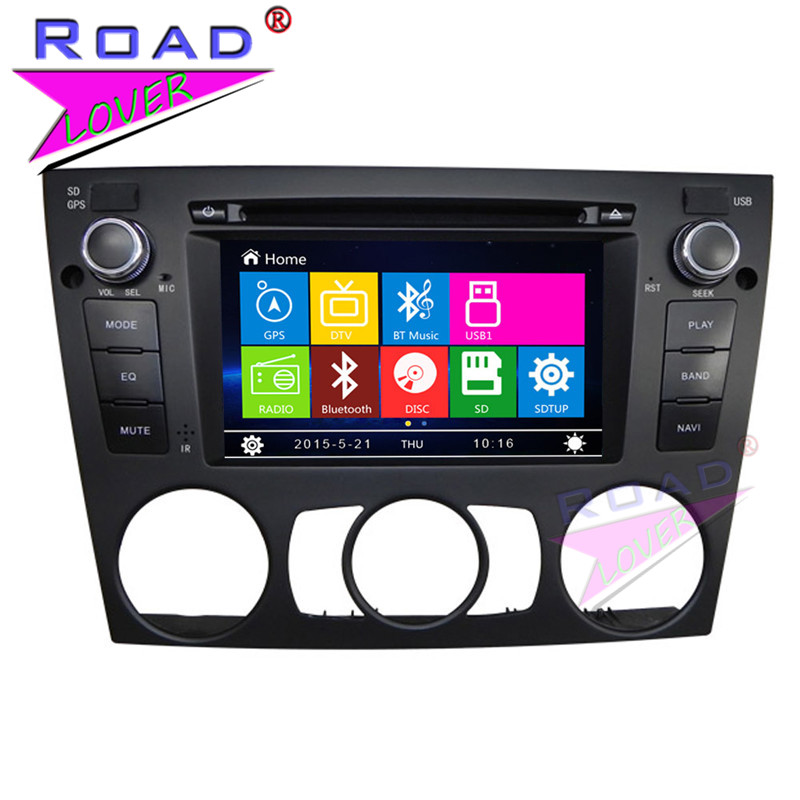 TOPNAVI Wince 6.0 Two Din Car DVD Player Multimedia For E90/E91/E92/E93 (3 Series Manual) 2005  For BMW Stereo GPS Navi Audio|wince 6.0|gps multimedia|multimedia gps - title=