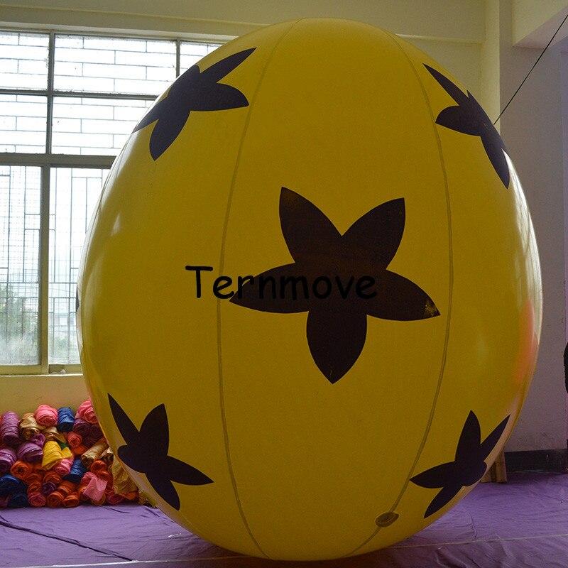 Oeufs gonflables géants de pâques, ballons gonflables d'oeufs/oeufs de pâques pour la décoration d'événement boule gonflable d'oeufs de pâques de kinder