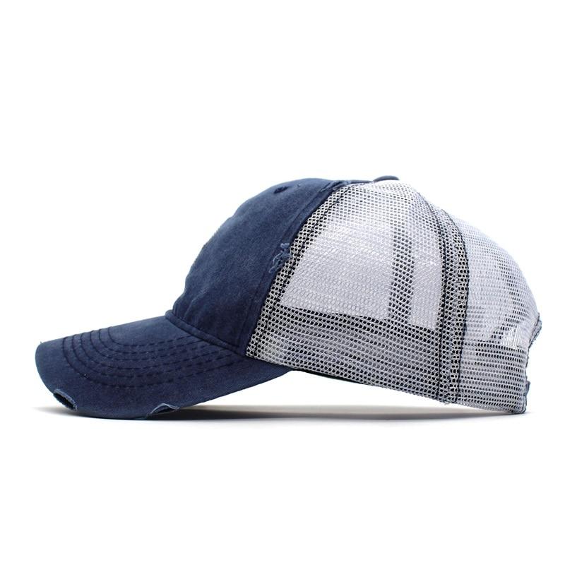 6e13c039156 Ditpossible Vintage Snapback Hat Women Summer Mesh Baseball Cap For ...