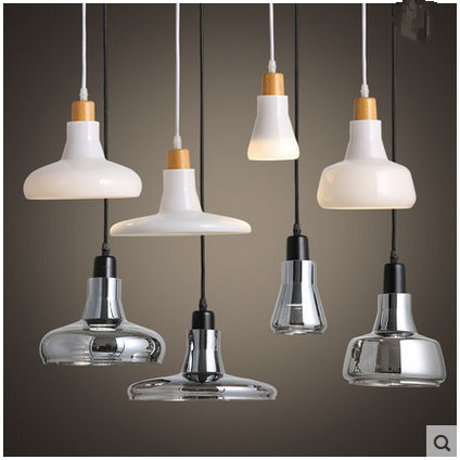 Modern Brief Tom Shadows Led Crystal Gl Pendant Lights Decorative Lamp Smoke Grey White In From Lighting On