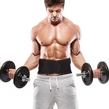 все цены на Marktop Lumbar Support Waist Pain Back Injury Supporting Brace For Fitness Weightlifting Belts Sports Safety Corrector Espalda онлайн