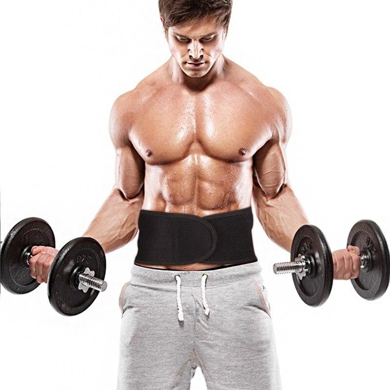 Marktop soporte Lumbar dolor de cintura trasera lesión soporte para la aptitud levantamiento de pesas cinturones deportes seguridad Corrector Espalda