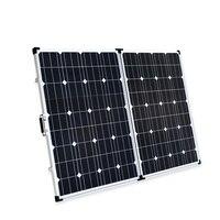 Boguang 200 Вт складная солнечная панель 2*100 Вт портативное солнечное зарядное устройство монокристаллический сотовый модуль 20A USB контроллер 12
