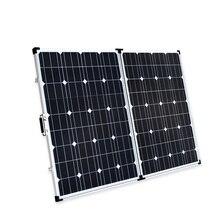 Boguang 200w foldable solar panel 2 100 Watt Portable Solar charger Monocrystalline cell module 20A USB