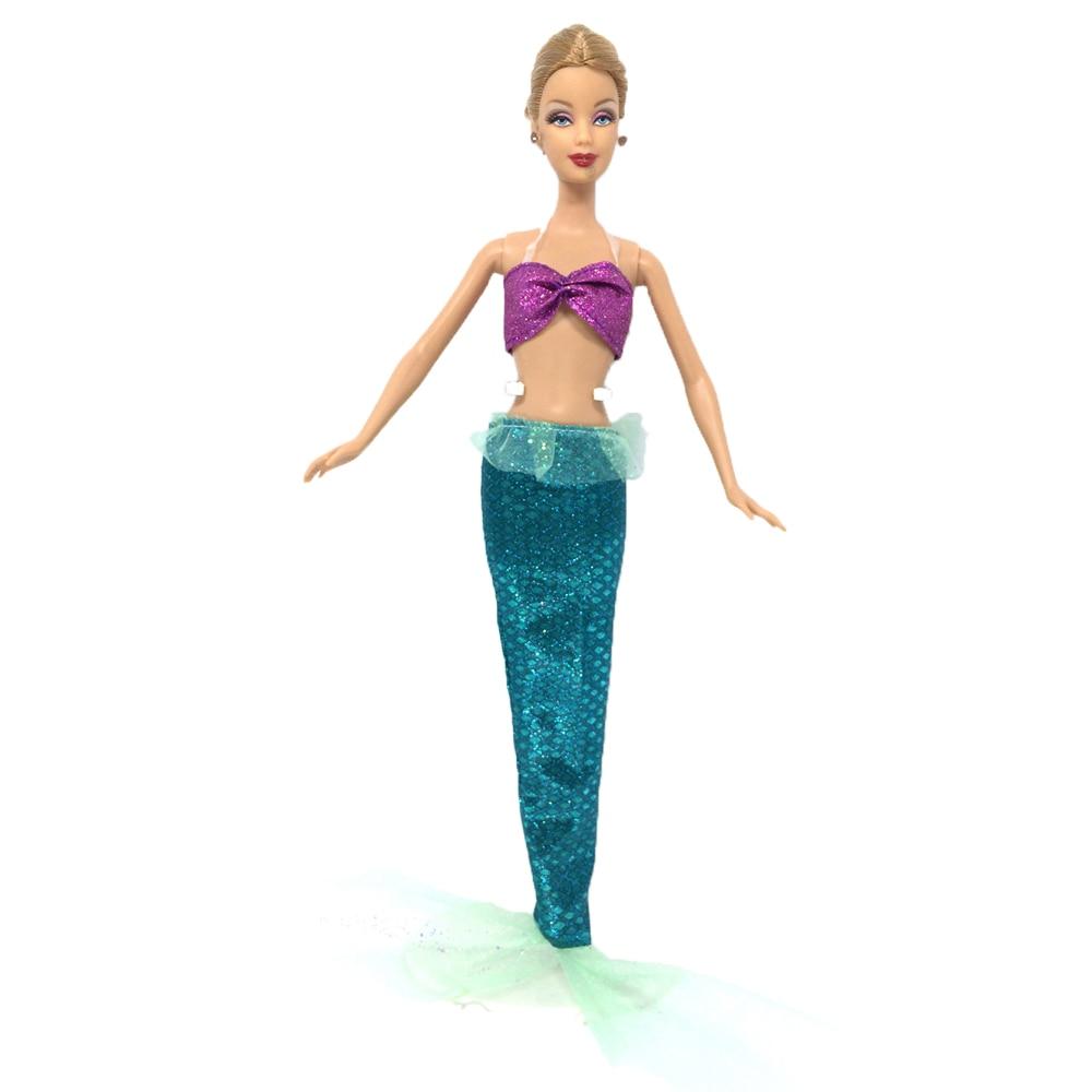 NK One Set princesa muñeca vestido Similar cuento de hadas cola de ...