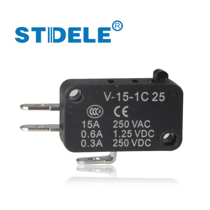 5PCS Microswitch STDELE V-15.V-151.V-152.V-153.V-154.V-155.V-156.-1C 25 Travel switch limit switch silver contact wieco art modern 100