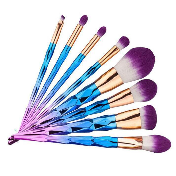 New 7pcs Makeup Brush Set Pro Foundation Powder Blush Eyeshadow Eyebrow Eyeliner Lip Brushes Kit Beauty Cosmetic Tools new 32 pcs makeup brush set powder foundation eyeshadow eyeliner lip cosmetic brushes kit beauty tools fm88