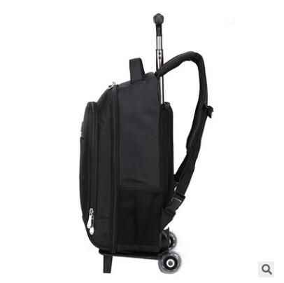 532e03b3f ... women travel Backpacks with wheels Men Business Travel Trolley Bags  luggage trolley Mochila Oxford Rolling Baggage
