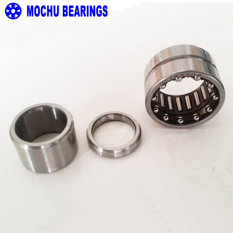 1piece NKIB5901 NKIB5901-XL 12X24X17.5X16 MOCHU Combined Needle Roller Bearings Needle Roller  Angular Contact Ball Bearings 1pcs 71901 71901cd p4 7901 12x24x6 mochu thin walled miniature angular contact bearings speed spindle bearings cnc abec 7