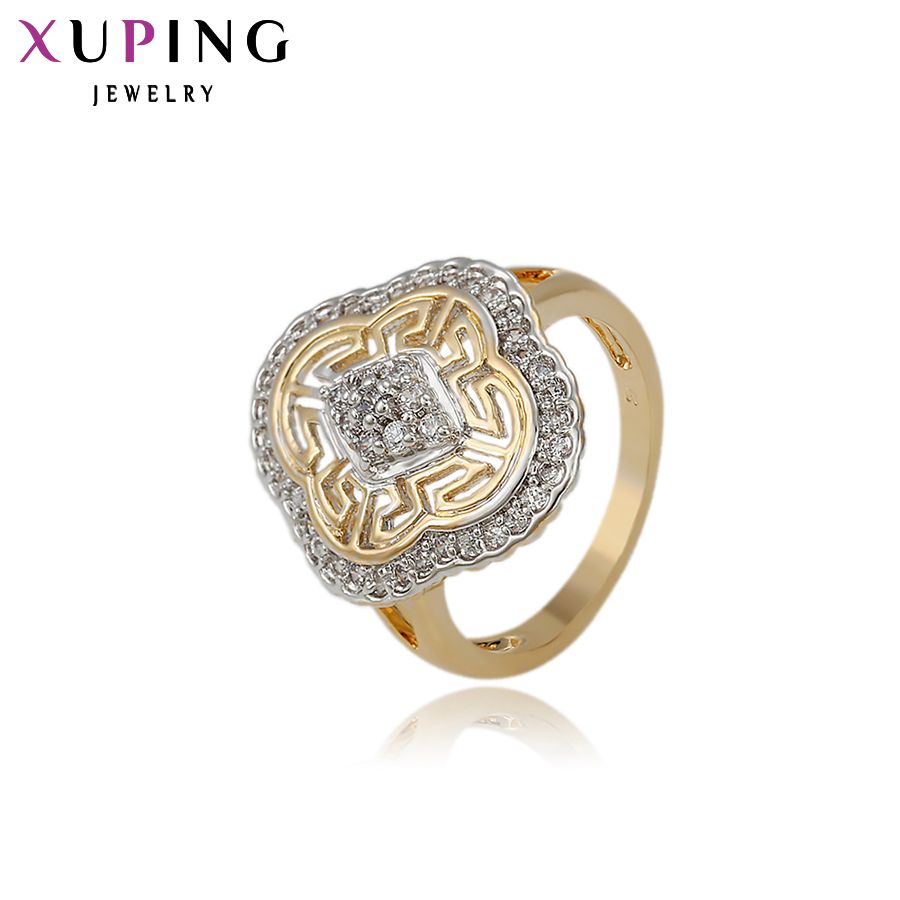 11.11 Deals Xuping Fashion Ring For Women Wedding Synthetic CZ American Style Top Quality Brand Jewelry Gift 11888