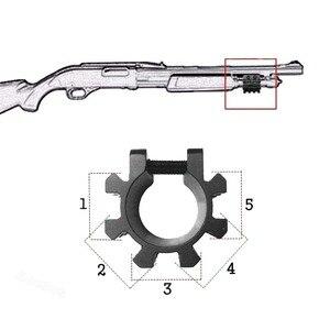 """Тактический Remington 870 Mossberg 500 12GA 1 """"дробовик Маг Трубка Tri Rail Пикатинни крепления 5 положение ствол дробовика крепление VI05039"""
