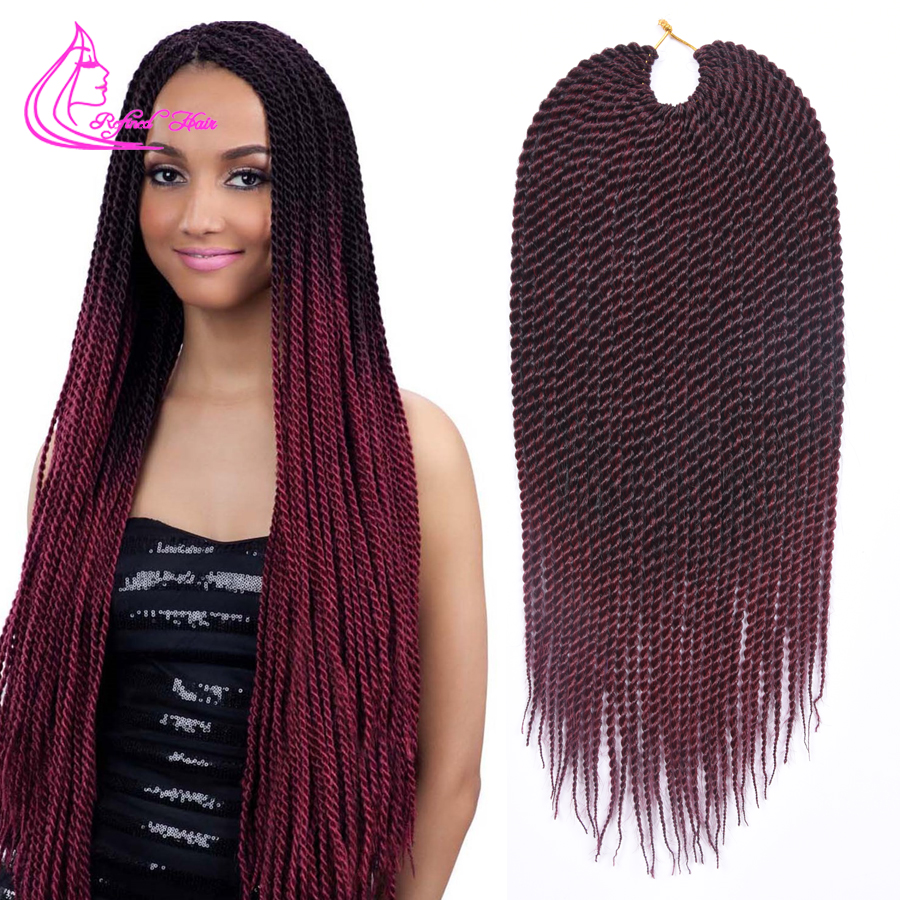 Crochet Hair Packages : ... Crochet Hair 30 Roots Senegalese Twist Hair Crochet Twist Braids Hair