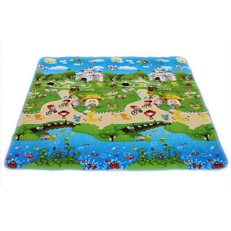 150 180cm Baby Toys Foam Vhildren S Play Mat Floor Kids