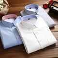 2016 Весна Последние Длинным Рукавом Мужчины Оксфорд Рубашки Повседневные Бизнес Мужские Рубашки Высокого Качества Стильный Китай Импортировал Мужчина Одежда