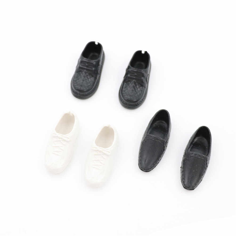3 Pairs /Set Doll Shoes Heels Sandals For Ken Dolls Accessories High Quality Baby Toy Fashion