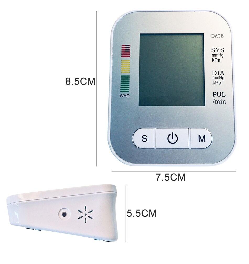 monitor da pressão arterial do tonômetro de