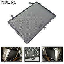купить Stainless Steel Motorcycle Matte Black Radiator Guard Radiator Cover For Yamaha Mt09 Tracer Mt-09 FZ09 2014-2016 XSR900 2016 по цене 1029.57 рублей