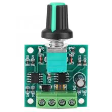 1.8-12V 2A DC Low Voltage Electric Motor Speed Controller PWM Motor Speed Regulator Tool Equipm hot sale dc 12 48v 400w aluminum alloy cnc spindle motor er11 mach3 pwm speed controller mount 3 175mm