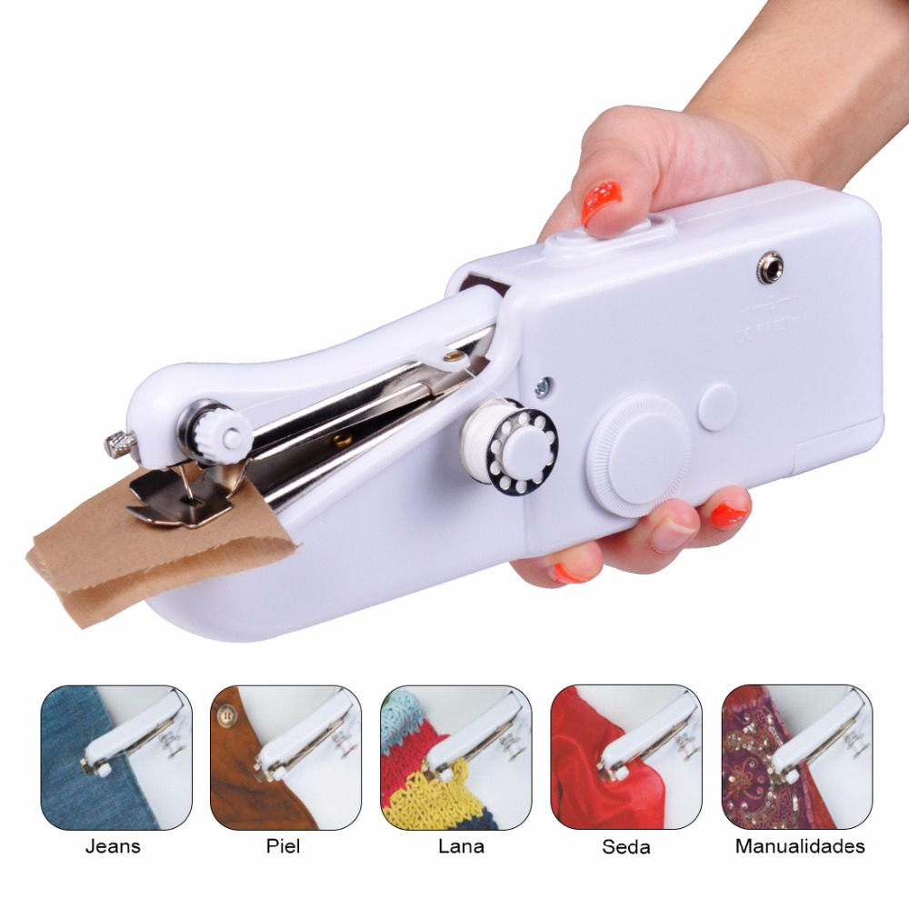 buy fanghua mini handheld sewing machine portable needlework cordless household. Black Bedroom Furniture Sets. Home Design Ideas