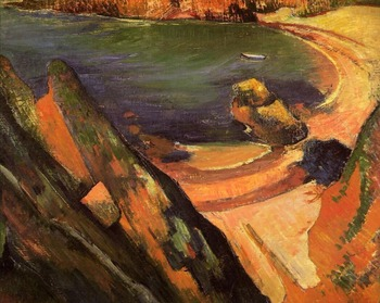 High quality Oil painting Canvas Reproductions The creek, Le Pouldu (1889)  by Paul Gauguin hand painted