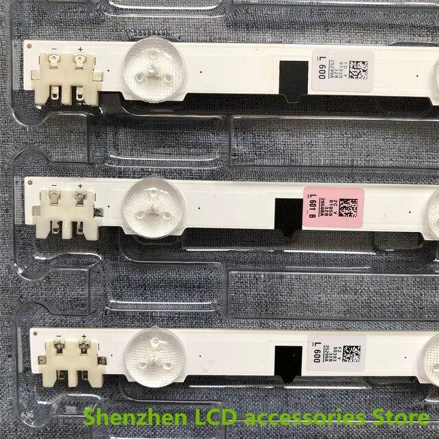 5pieces/lot  New UA32F4088AR CY HF320AGEV3H UE32F5000 UA32F4000AR LED strip D2GE 320SC0 R3 2013SVS32H 9 LEDs 650mm