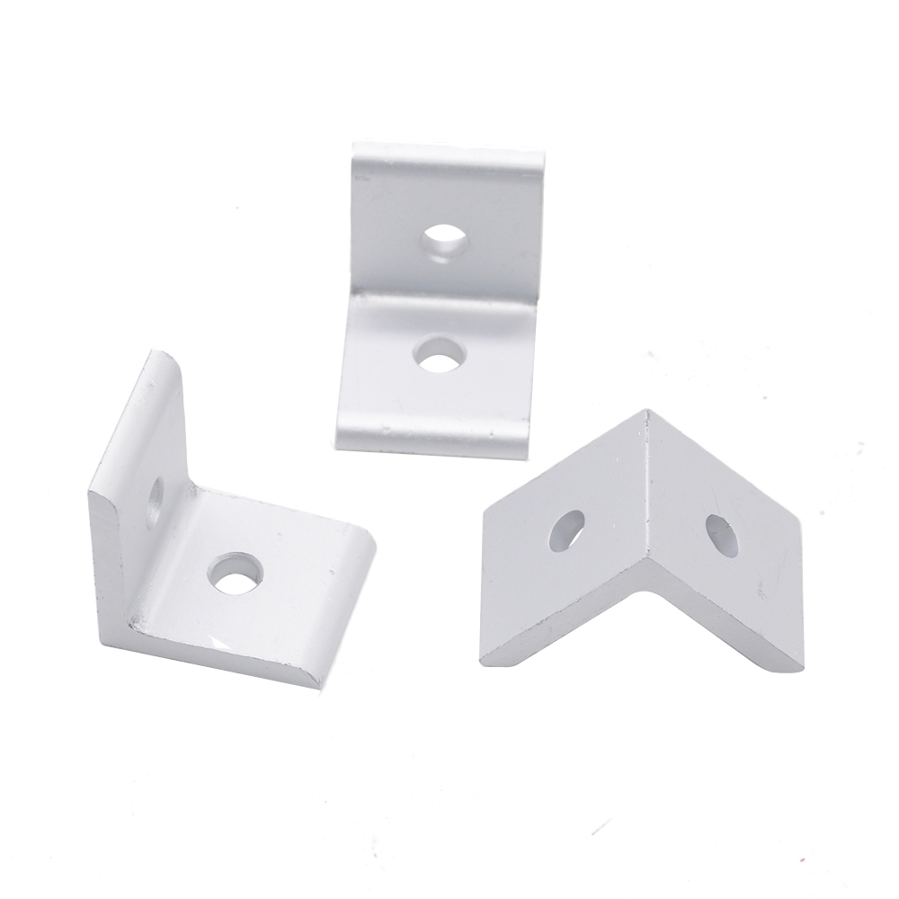 HOT Sale 2020 Angle Aluminum Connector 90 Degree Bracket Fastener EU Standard 20/30/40 Series Aluminum Profile Accessories