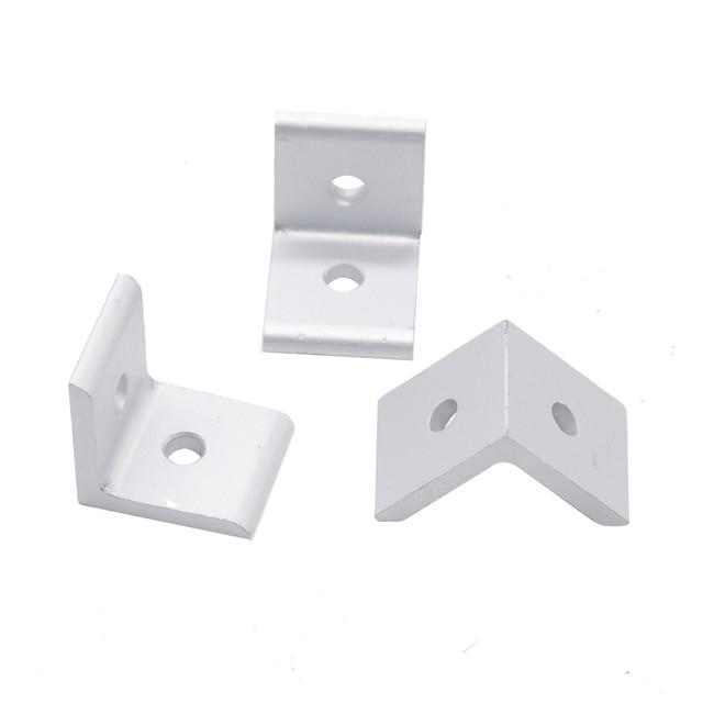de78787114 Vendita CALDA 2020 angolo di connettore in alluminio 90 Gradi staffa di  fissaggio standard UE 20