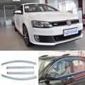 4 unids Nueva Ahumado Claro Ventana Vent Shade Visor Carenados Para VW Sagitar 12