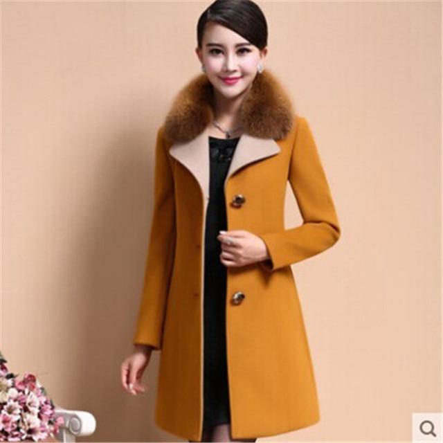 aliexpress : buy 2017 winter women wool coats fashion elegant