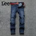 Nuevo Mens de La Llegada del Diseño Slim Fit Jeans Moda Jeans de Algodón de Los Hombres Pantalones de Los Hombres Del Motorista Jeans Homme 971