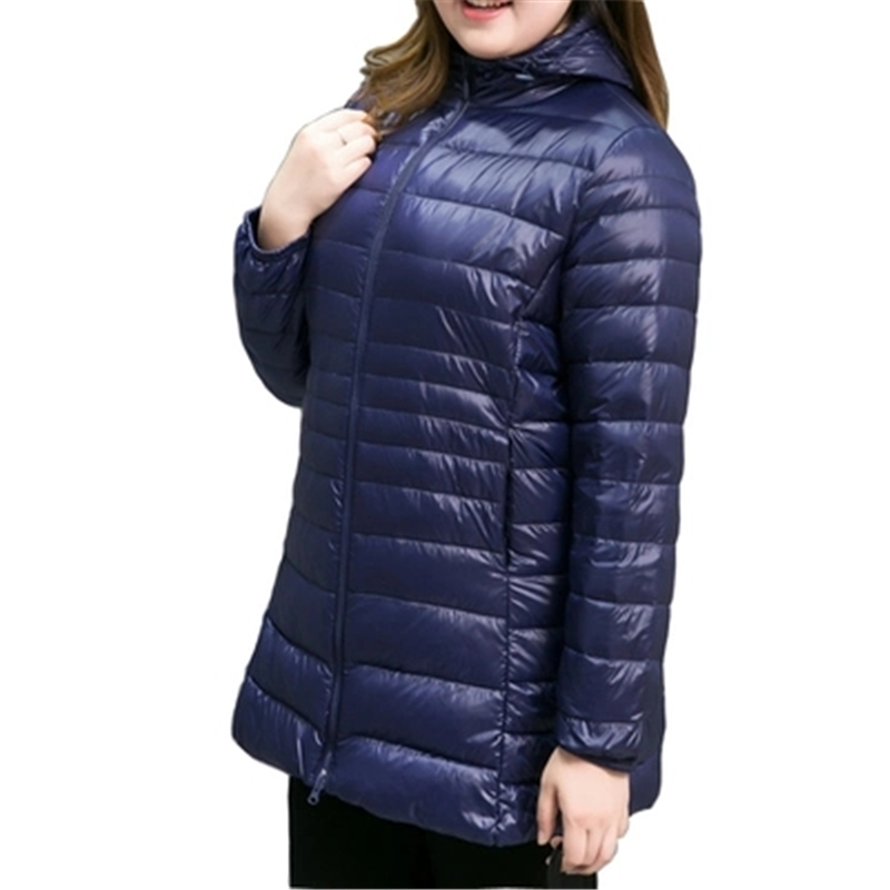 S-7XL New Big size Winter Women   Down   Jackets loose Hooded Women's   Down     Coats   Warm Winter   Down   Parkas Ultra Light   Down     Coats   J917