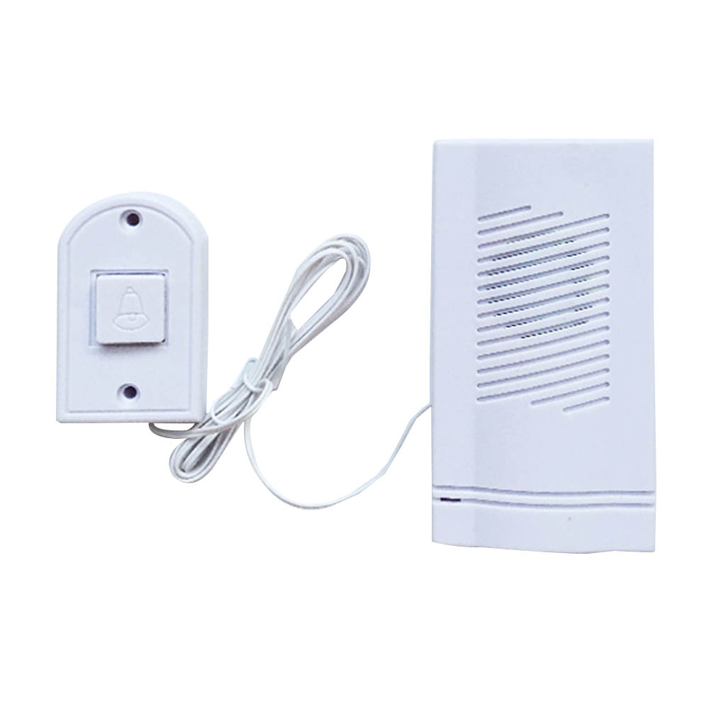 Wired Doorbell About 160cm Loud Volume Ring Loudly High Quality Stable Electronic Ringtones Home Family Protection Door Bell