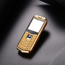 Новинка 2017 года Мини Роскошный телефон с MP3 Камера Bluetooth фонарик дети телефон металла 1.5 дюйма телефона