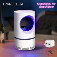 Светодиодная лампа для защиты от комаров, УФ ночник, USB, насекомые, ловушка для комаров, фонарь, лампа для дропшиппинга