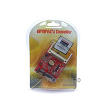 HOT SALE CF Type I II Merory Card to 2.5 SATA 7+15 22Pin Converter Adapter Retail Packaging cf adapter compact flash card adapter wifi sd to type ii cf
