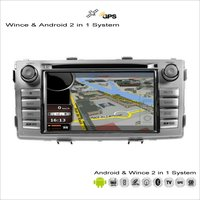 For Toyota Hilux Sw4 Vigo Fortuner Innova Car Radio CD DVD Player GPS Navigation Wince Android