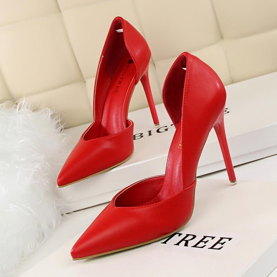 купить New Womens Shoes Pumps Super High Heels Woman Wedding Party Dress Shoes Ladies Fashion Elegant Sexy Classic Italian High Quality по цене 646.66 рублей