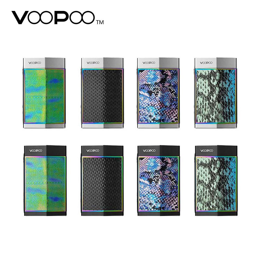 Original VOOPOO TOO 180W TC Box MOD with GENE Chip & 10ms Firing Speed & SOFT Mode for High Wattage No 18650 Battery E-cig Mod