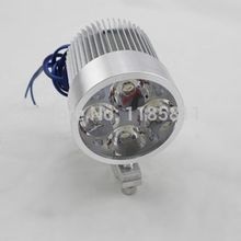 LED Spot Fog Lamp Driving Passing Light For Car Boat Motorbike GY6 Scooter bikes ATV Cruiser