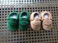 New Hot Newborn Baby Moccasins Suede Baby Moccasins Baby Boys Girl Shoes Moccs 0-18 Months Dropshipping