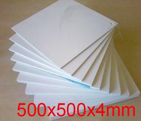 500mm Length 500mm Width 4mm Thickness Teflon Plate