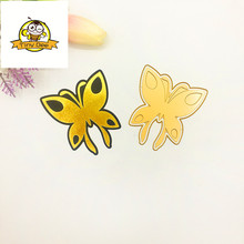 Butterfly HOT FOIL PLATE Dies Scrapbooking Metal Cutting Die DIY Photo Album Embossing Cut for Card Making Hot Stamping Foil