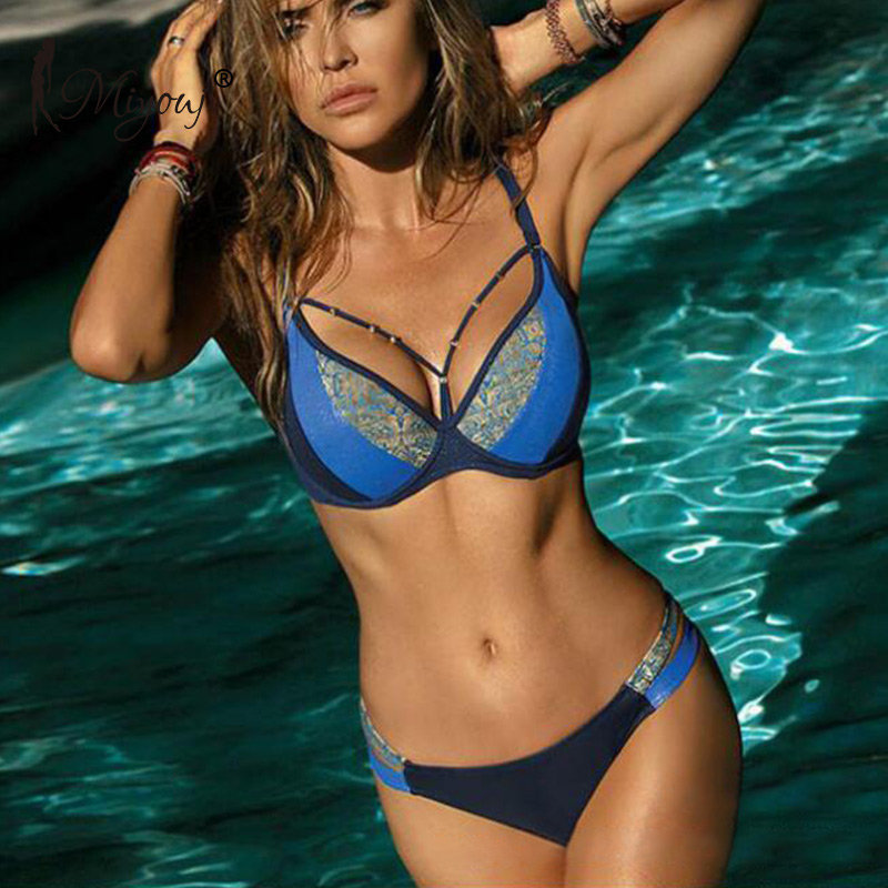 HTB16OT0avjsK1Rjy1Xaq6zispXab Miyouj Sexy Leopard Bikini Push Up Deep V Swimsuit Female Hollow Out Bathing Suit Women Snake Skin Print Biquini Halter Bikinis