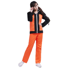 Naruto Cosplay Uzumaki Costume 2nd Generation Suit Unisex Casual Wear Coat Jacket Hoodie Tops Pants