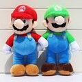 Super Mario Bros Плюшевые Игрушки 25 см Марио Луги Чучела Куклы Игрушки Для Подарка